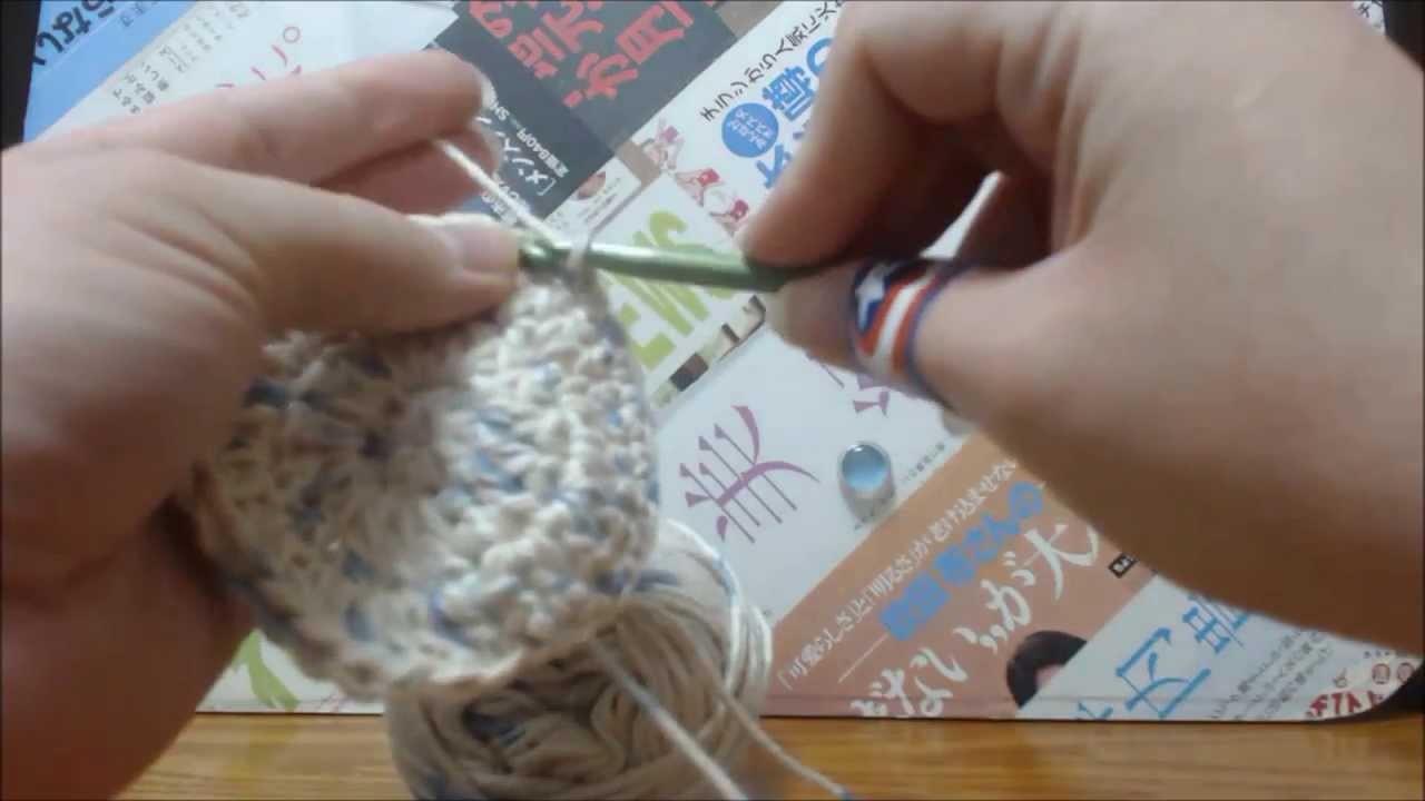 How to Crochet a Facial Scrubbie
