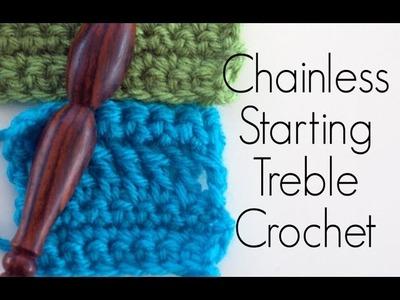 How to Crochet: Chainless Starting Treble Crochet