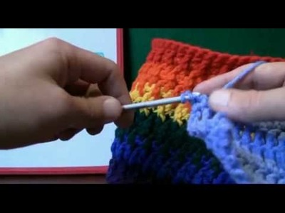 How To Crochet Using Front Posts FPDC - LH