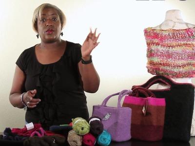 How to Felt a Handbag : Handbag Ideas