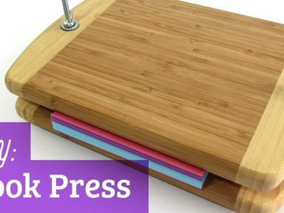 How to Make a Book Press