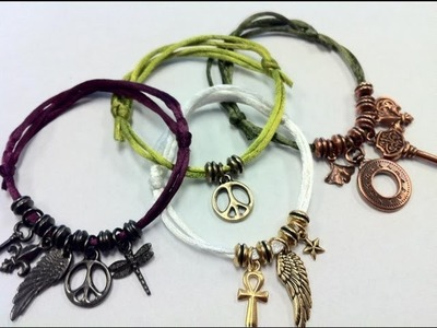 how to make rainbow loom charms with only a hook