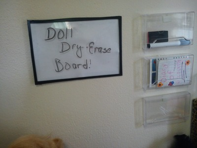 How To Make a Doll Dry-Erase Board