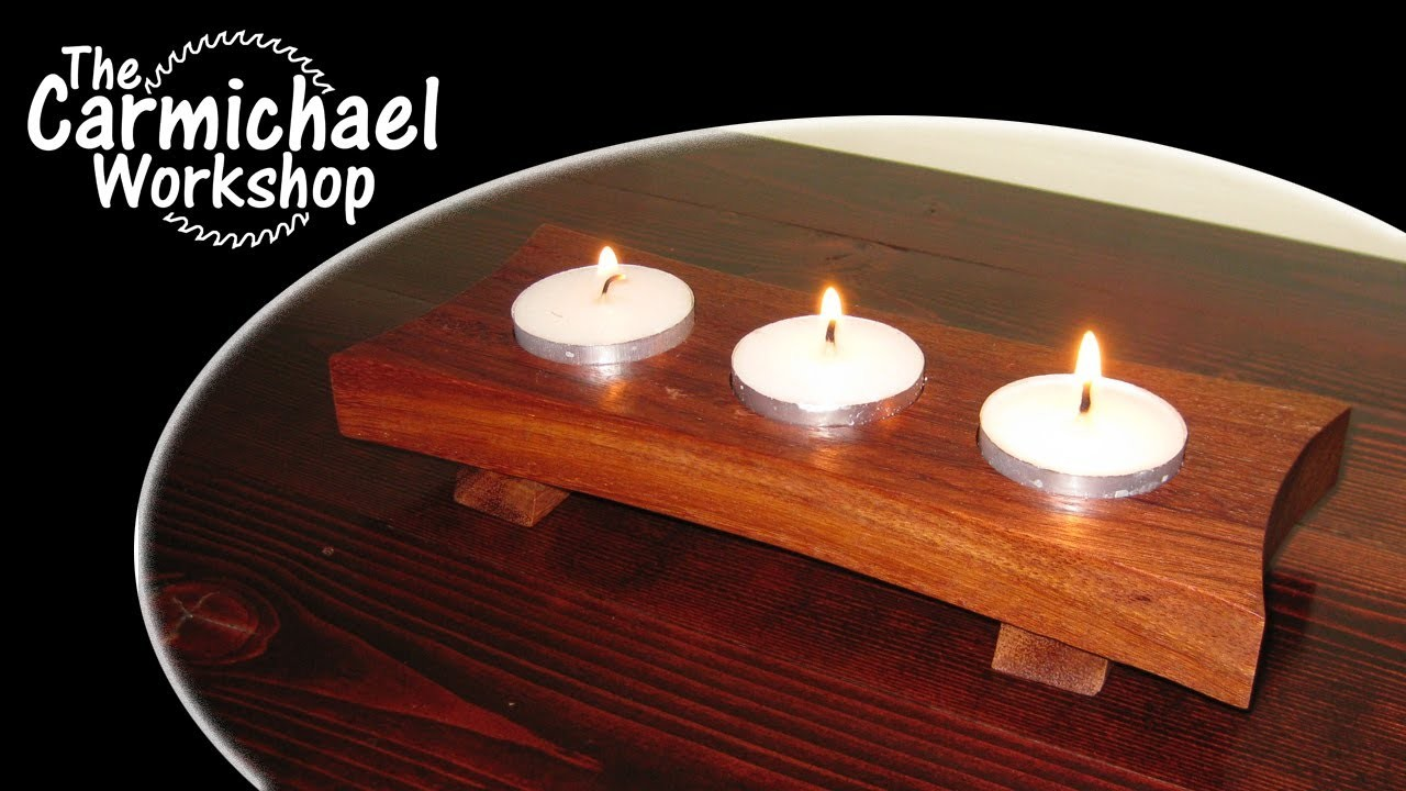 How to Make a Tealight Candle Holder - Easy DIY Weekend Project
