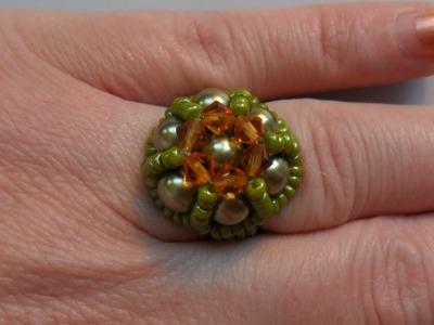 How to make this elegant ring