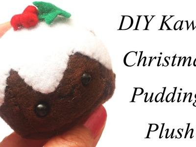 Kawaii Christmas Pudding Plush Tutorial - How To