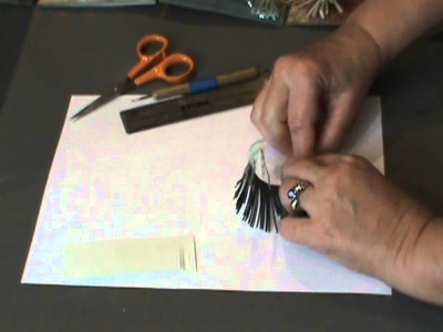 Making Paper Tassels