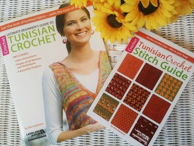 My Tunisian Crochet Books Arrived In The Mail