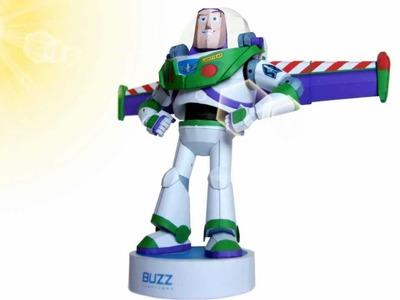 Papercraft - Buzz Lightyear - Stop Motion