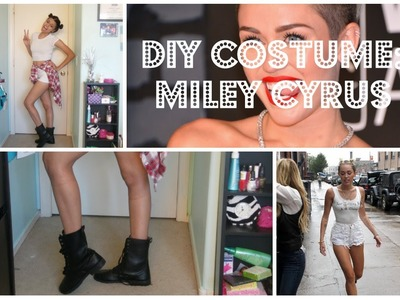 Quick&Easy DIY Miley Cyrus Costume!