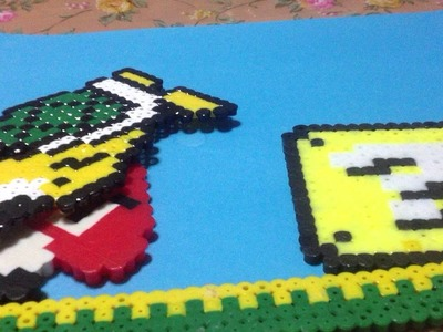 Stopmotion super mario hama beads 1-2