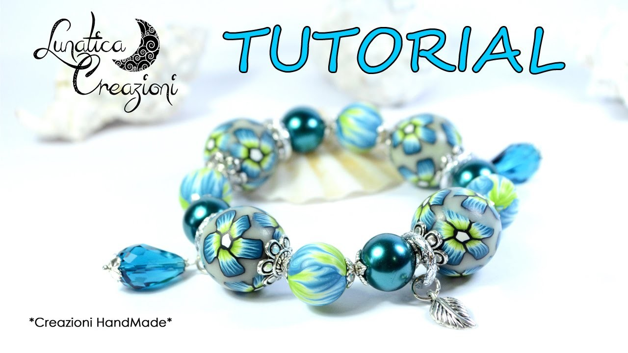 Tutorial: Come creare perle perfette in pasta polimerica | How to make perfect polymer clay beads