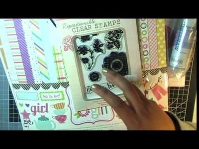 UK Craft Haul video - March 2012
