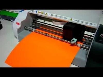 Vinyl cutter graphtec Craft Robo CC330-20 plotter - Demo