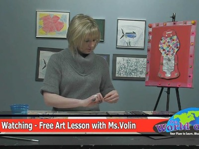 Warm Hands, Cool Background: Art Projects for Kids