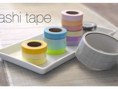 Washi Tape DIY Projects