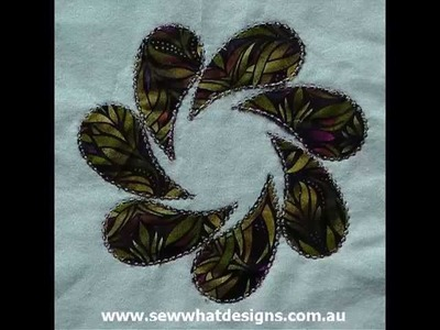 3D, 4D or 5D Embroidery. How to Digitize Applique for Die cuts