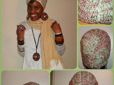 ♦ 5 ♦ The FAALU HEADWRAP Wrapping Tutorial