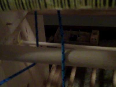 Apartment Gardener: Floor Loom Construction--video 1