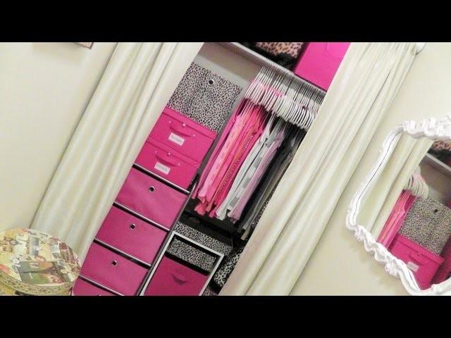 Closet Tour: Organizing A Very Small Closet