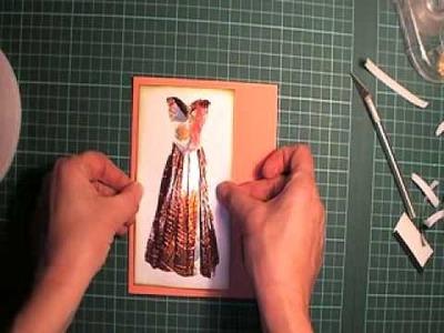 Corner Fold Fancy Dress Tutorial part 2