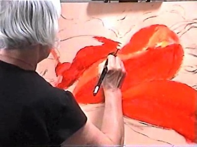 Demo: Red Pepper Painting - acrylic