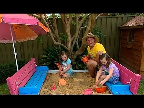 DIY: sand pit seat