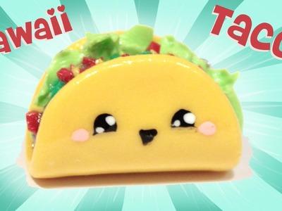 ◕‿◕ Taco! Kawaii Friday 109 - Tutorial in Polymer clay!