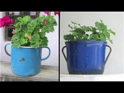 Gardening Tips : Unusual Flower Pot Design Tips & Ideas