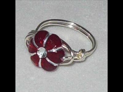 Handmade Little Girls Ring By Chrissandra.wmv