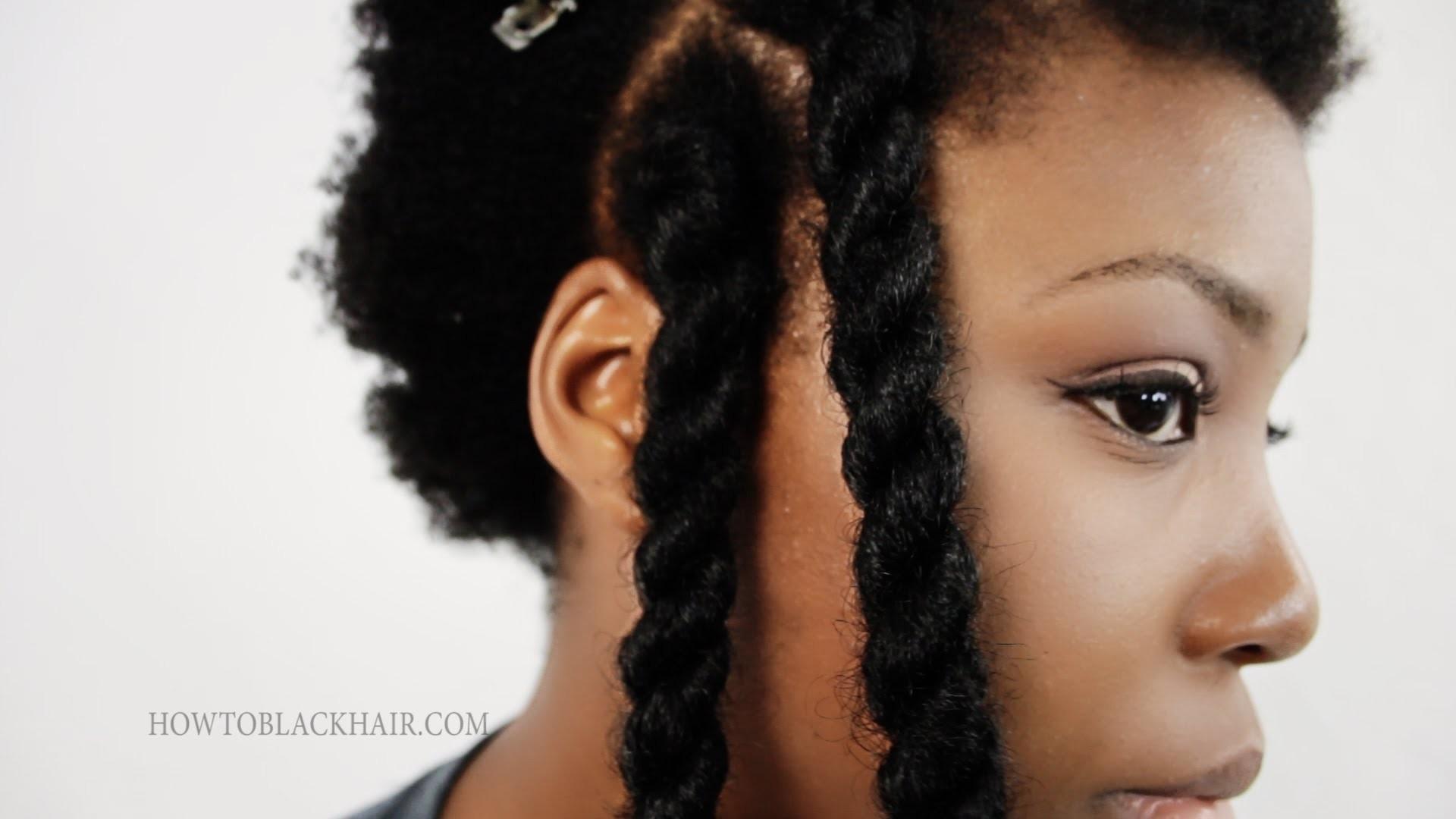 Havana Twists Step By Step Hair Tutorial Jumbo Senegalese. Invisible Root Marley Twist Method Part 2