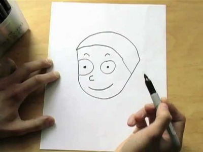 """How to Draw a Boy Using the Word """"Boy"""""""