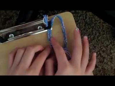 How to finish a friendship bracelet