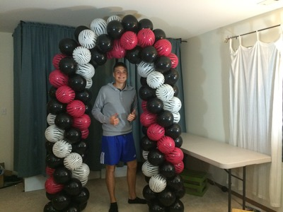How To Make A Balloon Arch Without Helium