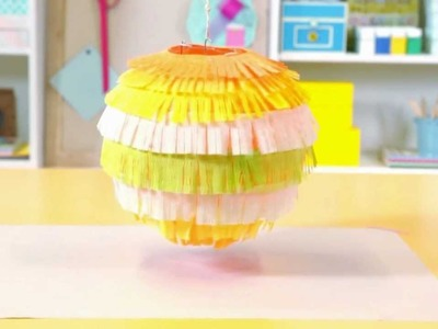 How to Make a Crepe-Paper Lantern