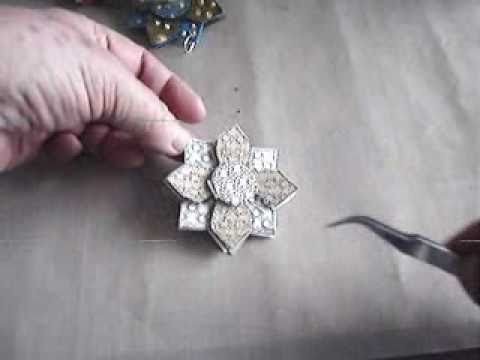 How to Make a Heat Embossed Holiday Ornament