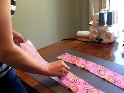 How to make a homemade diaper doubler