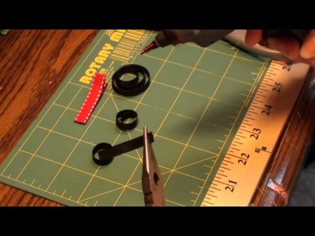 How To Make A Mickey Mouse Ears Hair Clip Tutorial