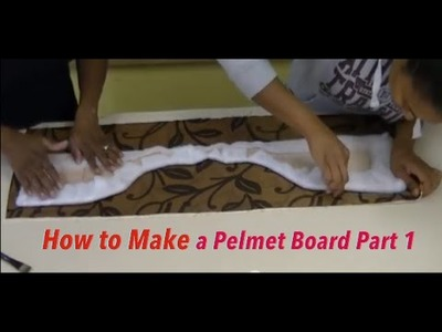 How to make a Pelmet Board Part 1