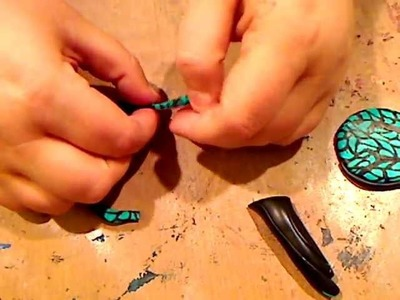 HOW TO MAKE A POLYMER CLAY LACE CANE FOR BEGINNERS AND PROS!
