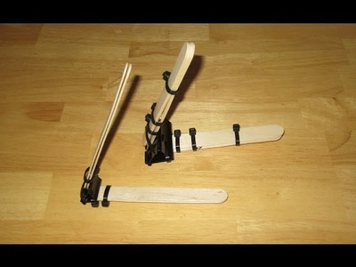 How to Make a POWERFUL Binder Clip Mini Catapult that can shoot up to 100 feet - SpecificLove