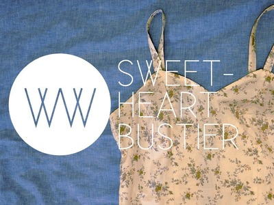How to Make a Sweetheart Bustier Tank