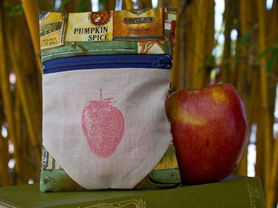 How to Make a Travel Snack Bag