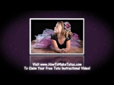 How To Make A Tutu FREE Tutorial