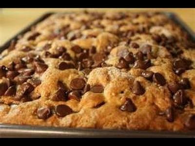 HOW TO MAKE A vegan carob cip cake