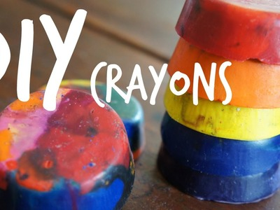 How to Make Crayons From Recycled Crayons