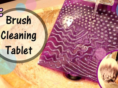 How To Make: Make Up Brush Cleaner- With Hot Glue Gun