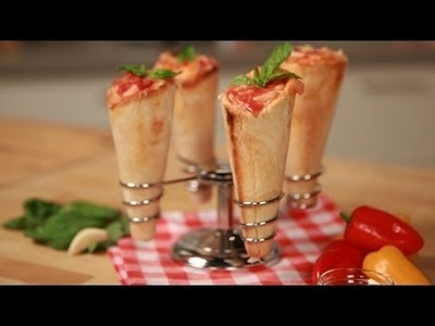 How to Make Pizza Cones | Eat the Trend