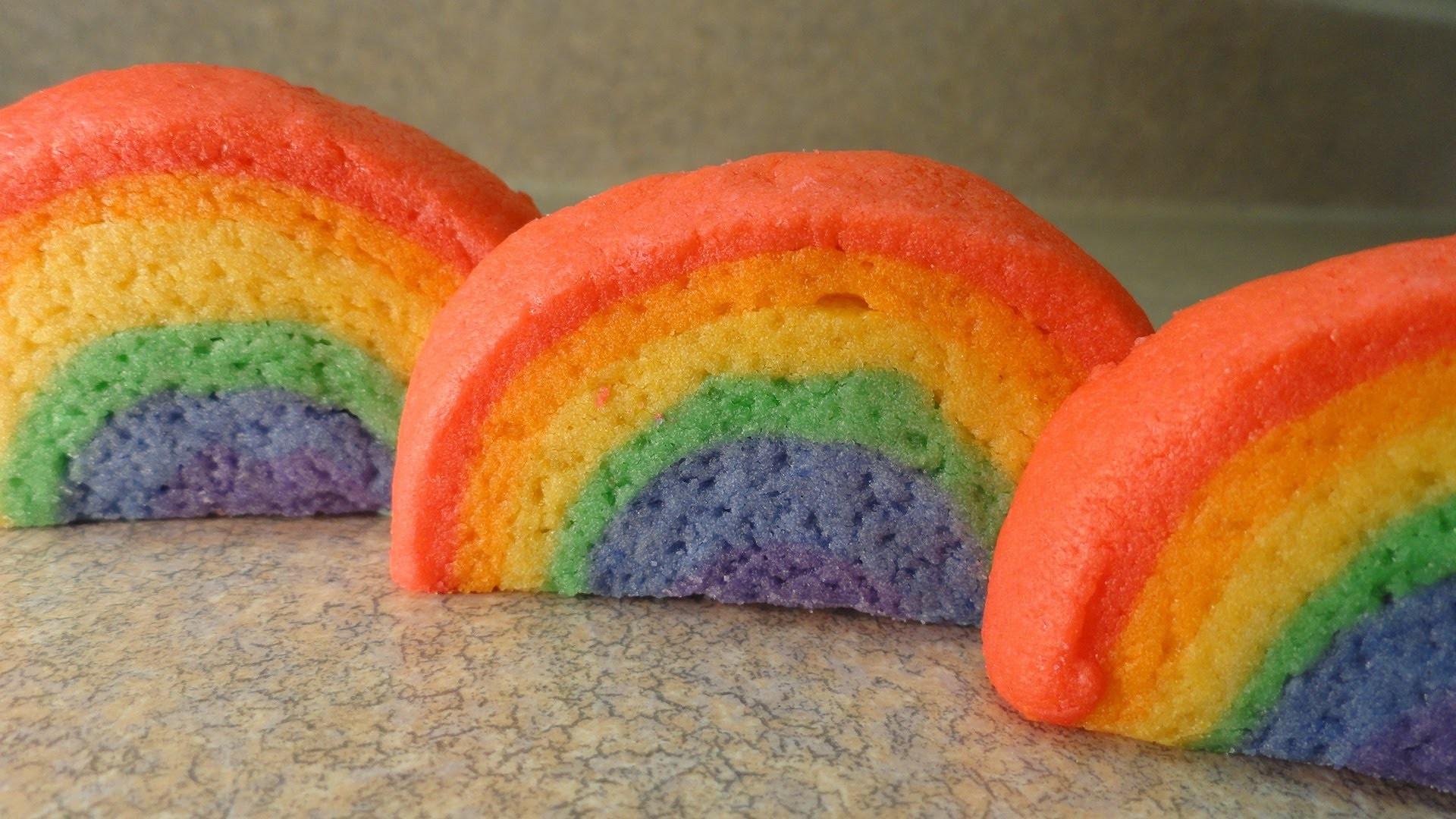 How To Make Rainbow Cookies -with yoyomax12
