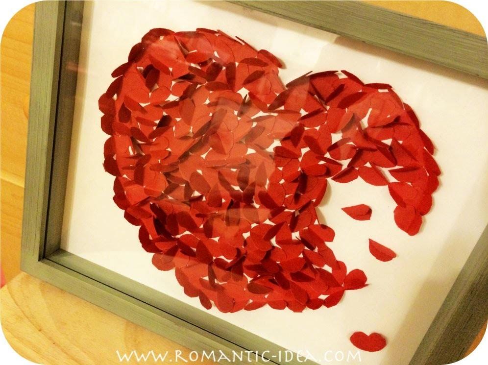 How to Make Romantic Handmade Gift.Present for Valentine.Boyfriend.Birthday.Anniversary